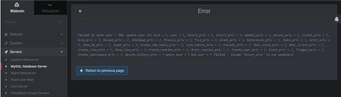 MYSQL-ERROR