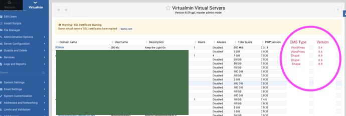 virtualmin_virtual_server_with_custom_fields_drupal_wordpress