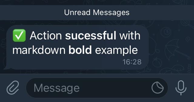 test-message